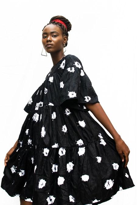 Busayo NYC Gbenga African Swing Dress