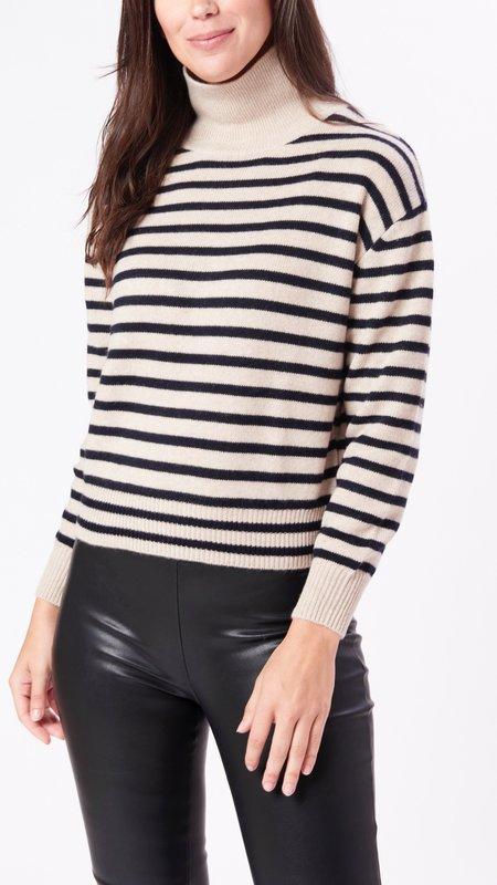 Demy Lee Emerie Sweater - Oatmeal/Navy