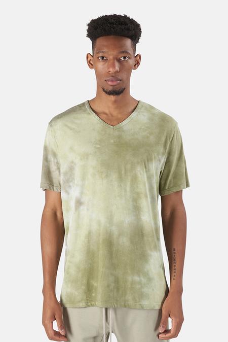 Cotton Citizen Classic V Neck T-Shirt - Basil Haze