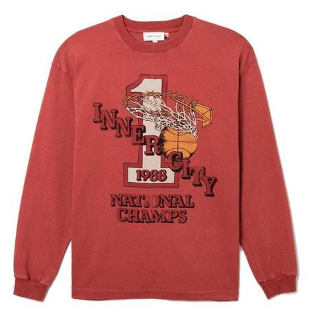 Honor The Gift Swish L/S T-Shirt - Brick