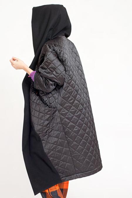 Reality Studio Big Xiong Coat w Hood - Black