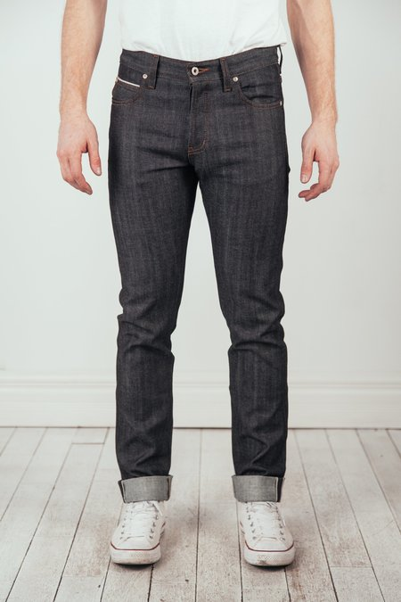 Naked & Famous Super Guy Stretch Selvedge Jeans - Indigo