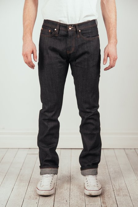 The Unbranded Brand Tapered Stretch Jeans - Indigo