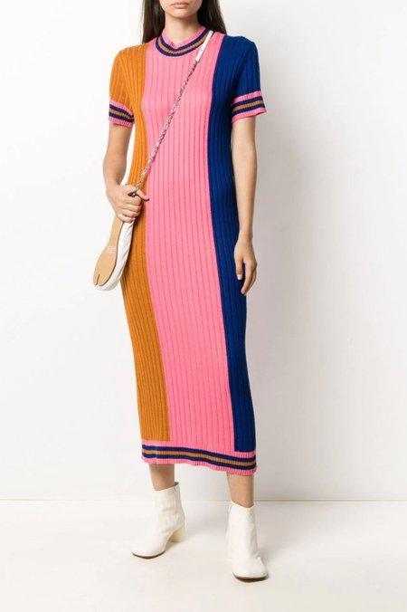 Henrik Vibskov Tricolour Knit Dress