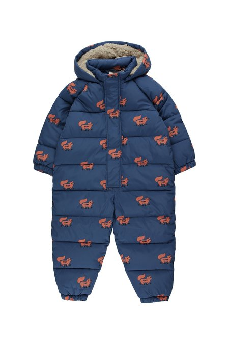 Kids Tinycottons Foxes Padded Onepiece