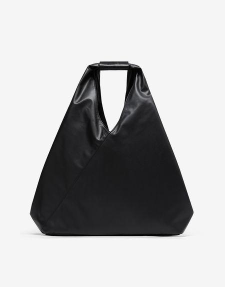 MM6  Maison Margiela Folded Japanese Faux Leather Large Bag