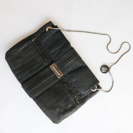[pre-loved] Lanvin Quilted Shoulder Bag - Black