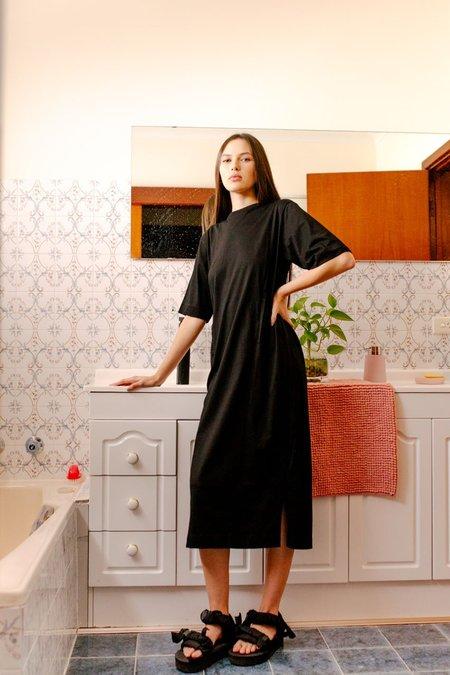 SALASAI TRUE STORY TEE DRESS - BLACK