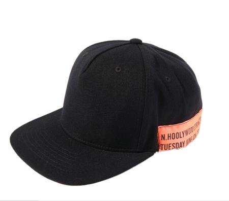 N.Hoolywood Cap - Black