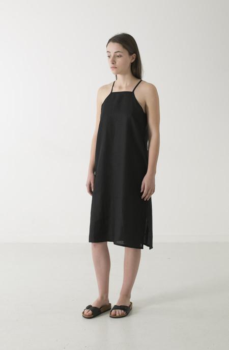 GOOD STUDIOS WOMENS HEMP LINEN PINAFORE DRESS