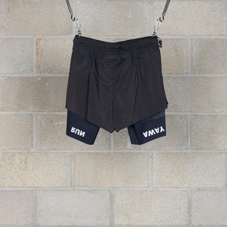 Satisfy Short Distance 8 Shorts - Black Silk