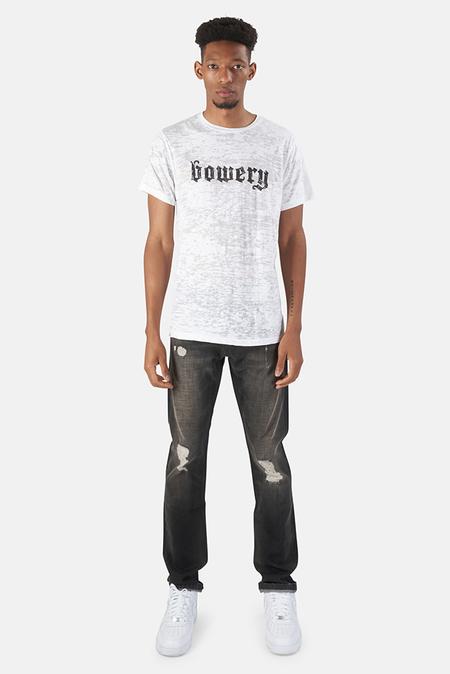 Blue&Cream Bowery Graphic T-Shirt - White