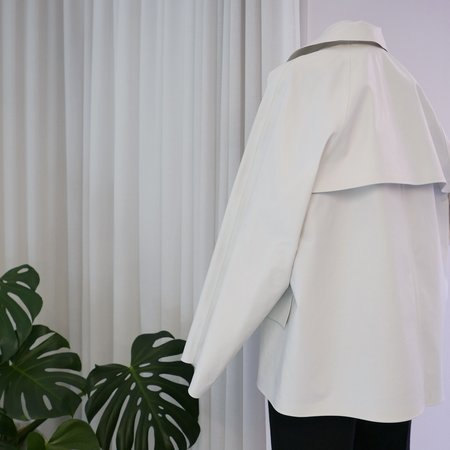 KASSL EDITIONS Original Hip Oil Coat - White