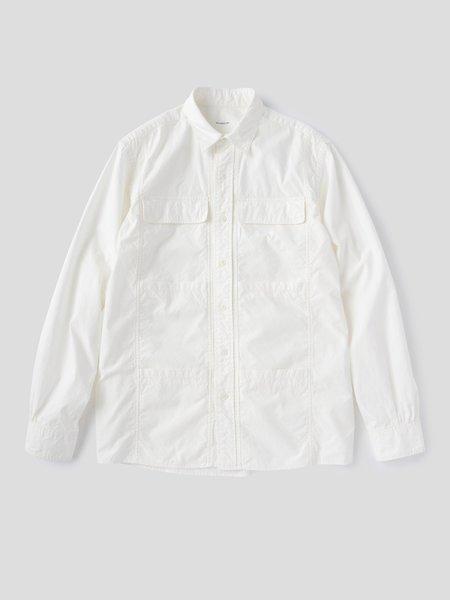 S H SH-CRRD-001 Ski Shirt - White