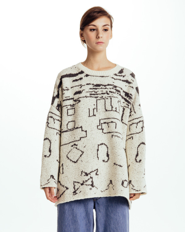Revisited Matters Sabi Intarsia Sweater