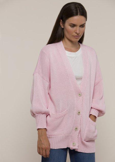 Vivian Graf Ann Cardigan - Baby Pink
