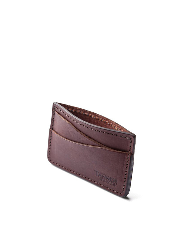 Tanner Goods Journeyman Wallet Cognac