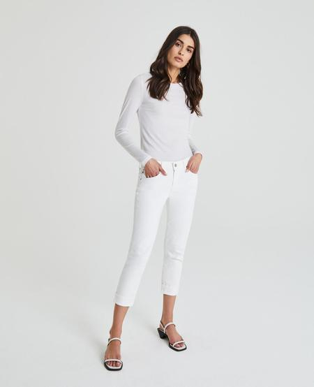 AG The Ex-Boyfriend Slim Jeans - 1 Yr Tonal White