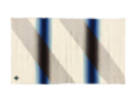 Agave Supply Teo Rug - Blue Ombré