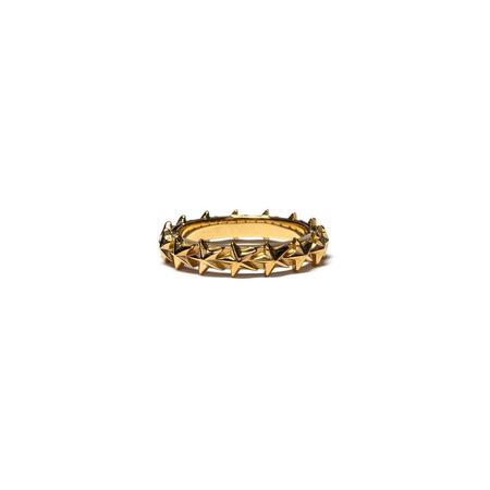 MAPLE Star Ring - 14K Gold  / Silver 925