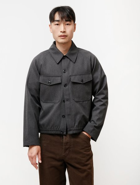 Lemaire Military Blouson - Anthracite