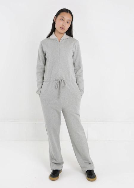 Baserange Grey Melange Doha Jumpsuit