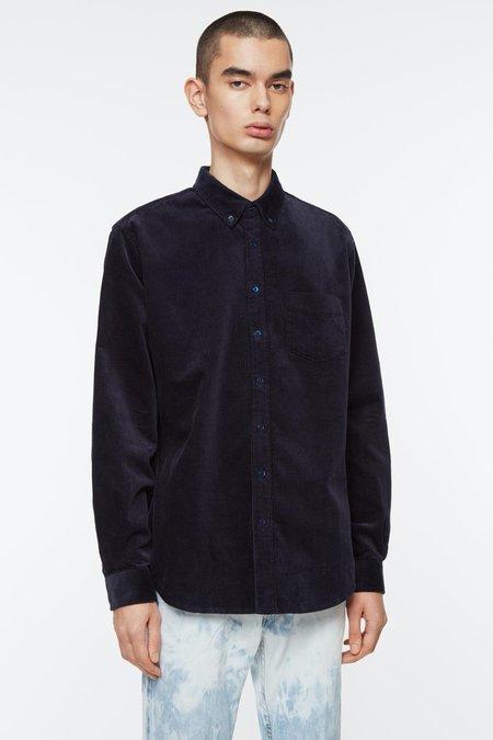 Schnayderman's BD Cord Shirt - Deep Blue
