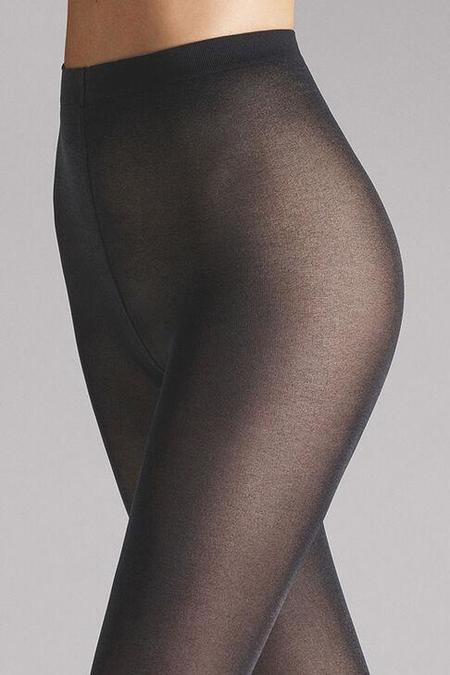 Wolford Satin Opaque 50 Tights - Anthracite