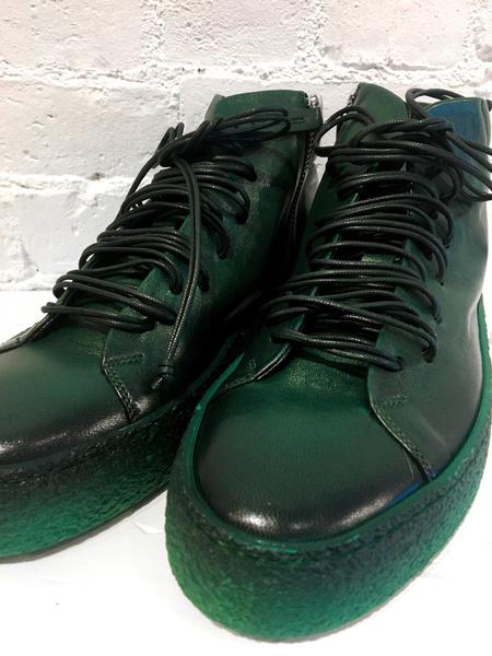 Halmanera High Top Sneaker - Green
