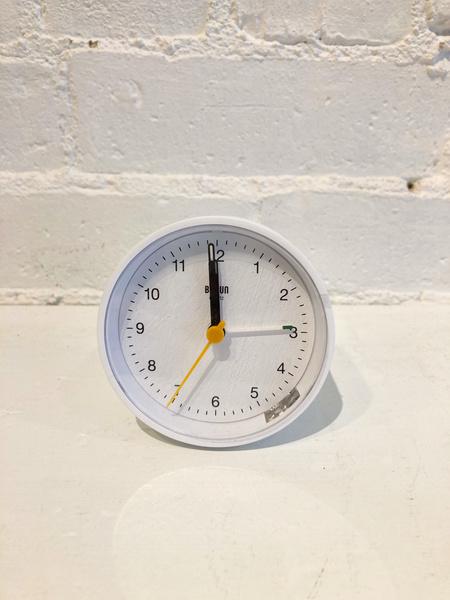 Braun Alarm Clock - White