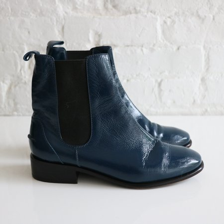 [Pre-loved] Rachel Comey Ankle Boots - Navy
