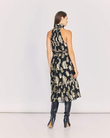 IRO Laza dress - Black/Gold