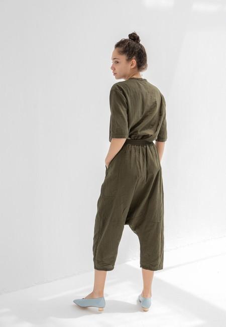 Atelier Delphine Kiko Pants - Hunter Green