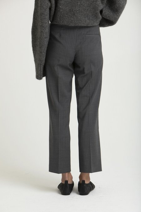House of Dagmar Judith Pants - Grey Pinstripe