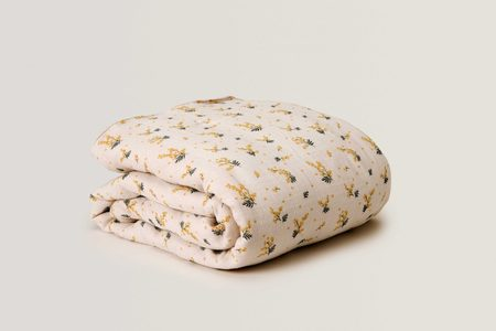 Kids Garbo & Friends Muslin Quilt - Mimosa