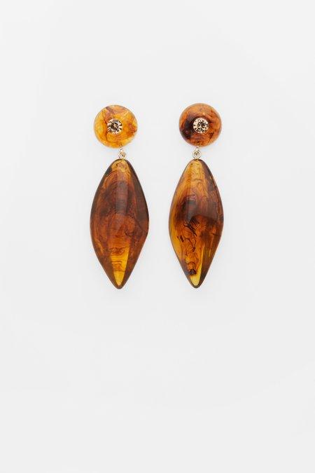 Valet Studio Alyssa Earrings - TORTOISESHELL
