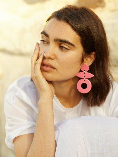 Valet Studio Evie Earrings - Green