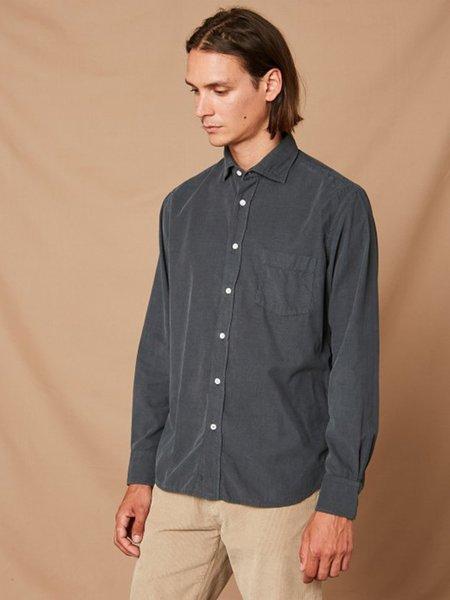 Hartford Paul Corduroy Shirt - Graphite