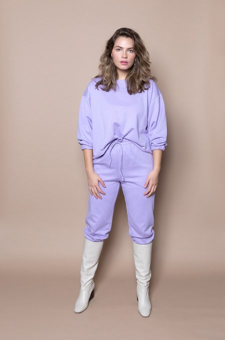 Soft Focus The Big Sweatshirt –Lilac