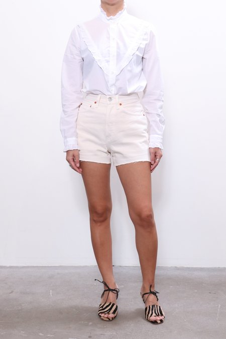 RE/DONE 50s Cutoffs - Vintage White