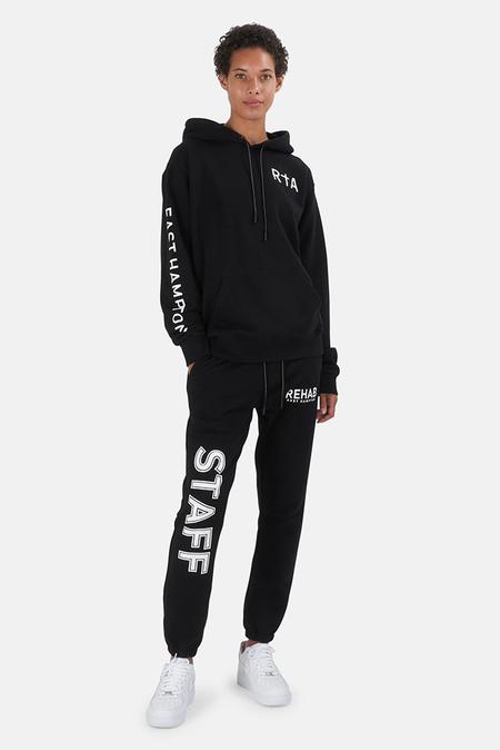 RtA Markus Rehab Hoodie Sweater - Black