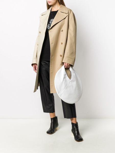 MM6 MAISON MARGIELA Circular Classic Japanese Shopping Bag - WHITE