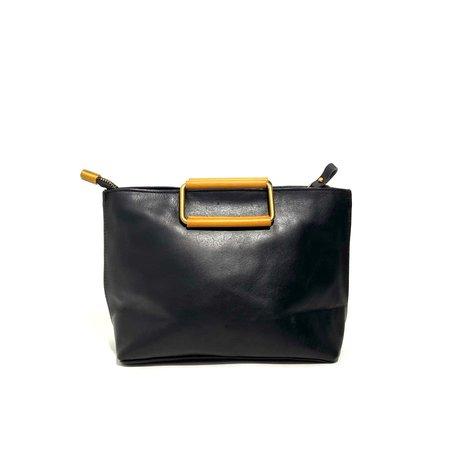 Uppdoo Joy Small Handle Bag - Black