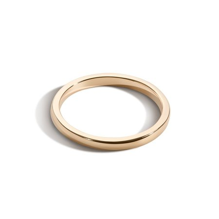Shahla Karimi 1.8mm Deep Gold Band