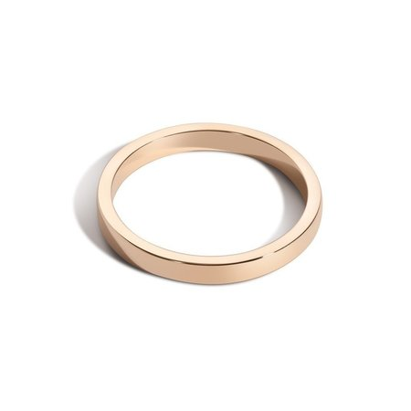 Shahla Karimi 2.2mm Deep Gold Band