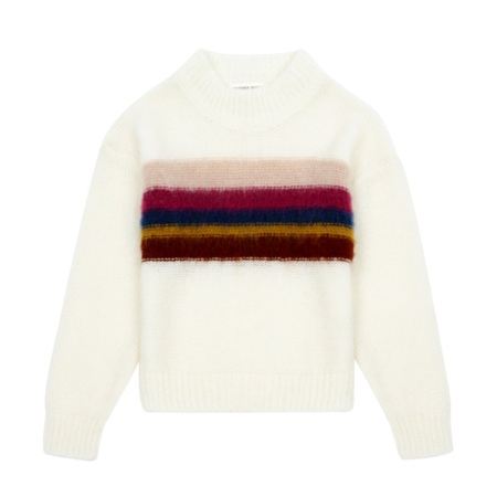 kids Hundred Pieces Rainbow Knitted Jumper
