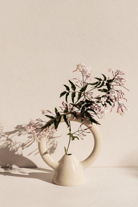 Eun Ceramics Femme #3 Large Vase - soft beige