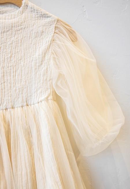 Kids Little Creative Factory Muslin Fairy Dress - Cream