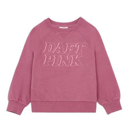 Kids Hundred Pieces Sweatshirt - Daft Pink