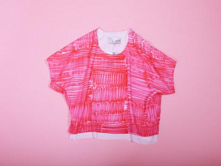 FfiXXed Covers TShirt - Pink Spray